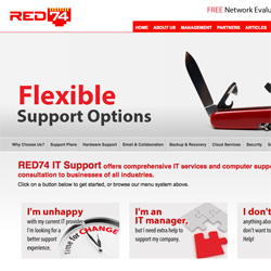 RED74 IT Support
