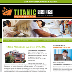Titanic Manpower Suppliers (Pvt.) Ltd.